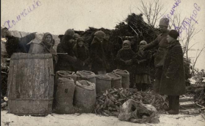 Вилучення у селян овочів, Одещина, 1932 р.