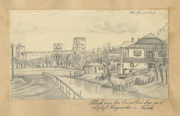 Загальний вид на Луцький замок