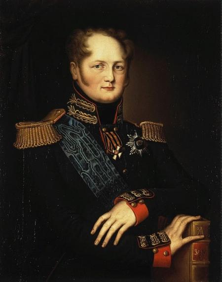 Портрет Олександра І, невідомий художник, початок XIX століття
