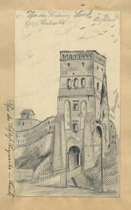В'їзна вежа Луцького замку