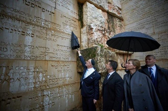 Президент Володимир Зеленський під час відвідин