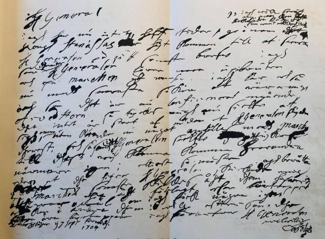 Друкарський відбиток рукописного листа