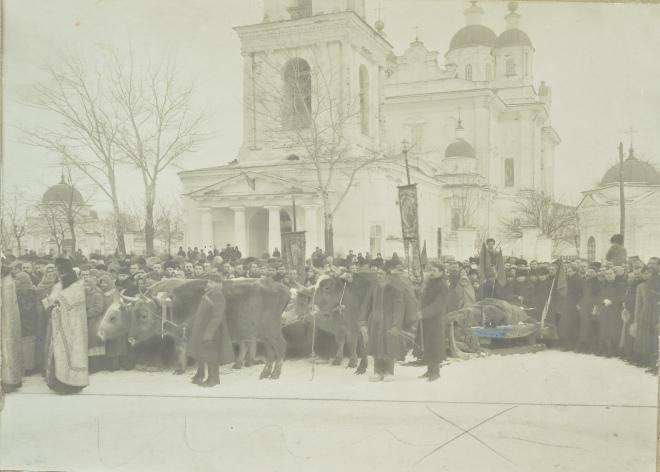 Похорон Панаса Мирного 30 січня 1920 року
