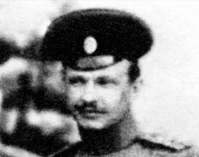 Полковник Володимир Колосовський, військовий радник делегації УНР на переговорах в Парижі