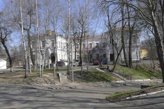 Сучасні фото Київської міської психіатричної лікарні № 1 імені І.П.Павлова