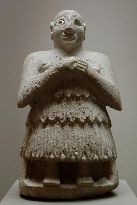 Шумер, який молиться. Фігурка з Лагашу