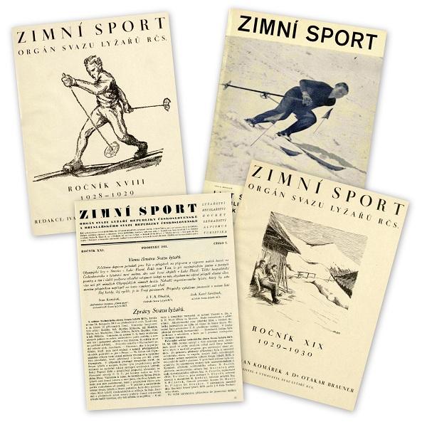 Чехословацький журнал Зимовий спорт